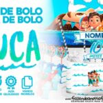 Topo de bolo Luca Disney para Imprimir Gratis