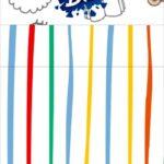Bis duplo 3d Dia das Criancas para colorir