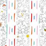 Caixa Bala Dia das Criancas para colorir