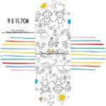 Forminha Brigadeiro 3d Dia das Criancas para colorir
