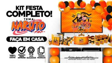 Kit Festa Naruto gratis