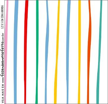 Molde Caixa Acrilica Dia das Criancas para colorir