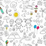 Printable Dia das Criancas para colorir