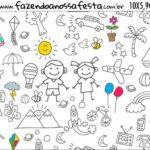 Rotulo Squeezer Dia das Criancas para colorir